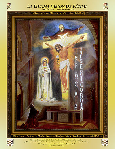 Fatima Movement Last Vision of Fatima Flier - Spanish