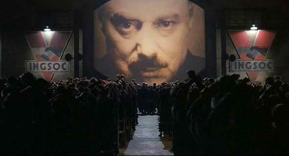 The Two Minutes Hate from Orwell's 1984