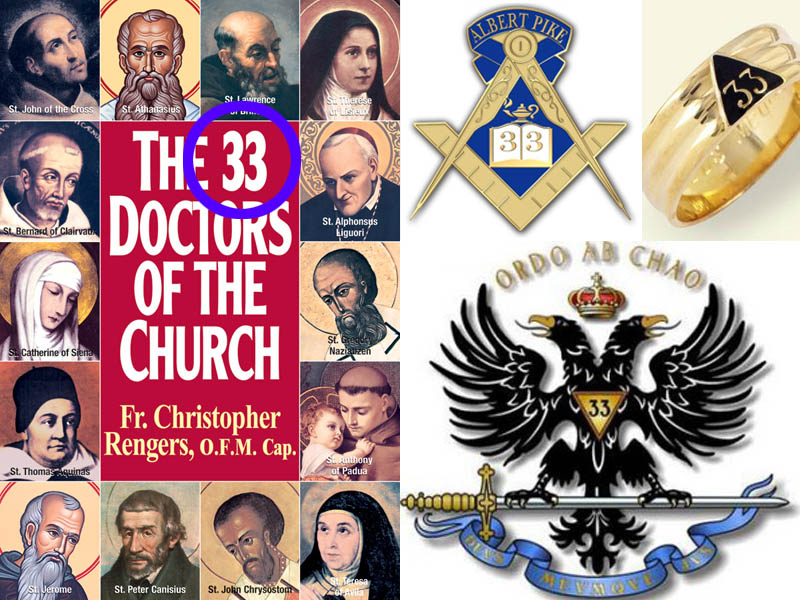 33 Masonic Doctors of the Church