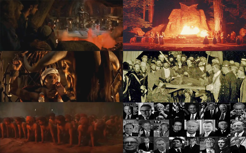 Temple of Doom and Bohemian Grove