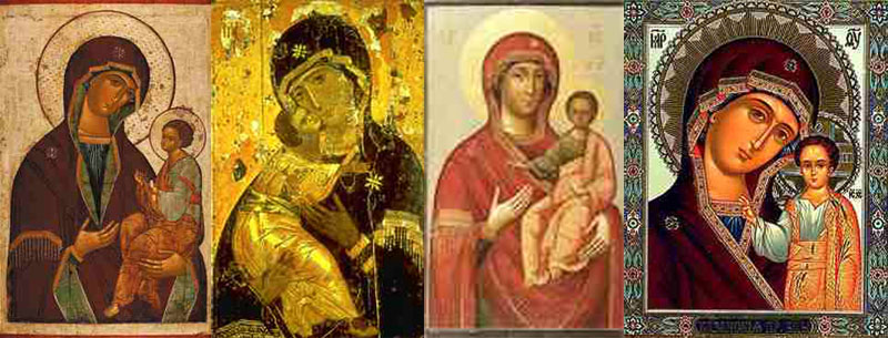 The Errors of Russia, portraying God as an infant