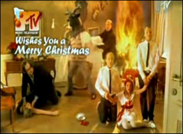 MTV Baphomet Christmas Commercial