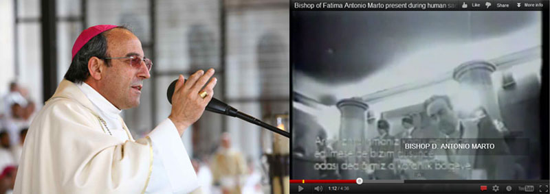 Freemason Bishop of Fatima caught on camera in a Masonic Lodge