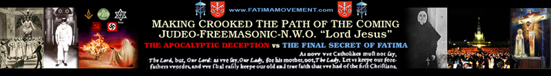 Old Fatima Movement Website Banner