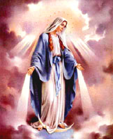 Third Secret of Fatima - Our Lady's Appearance