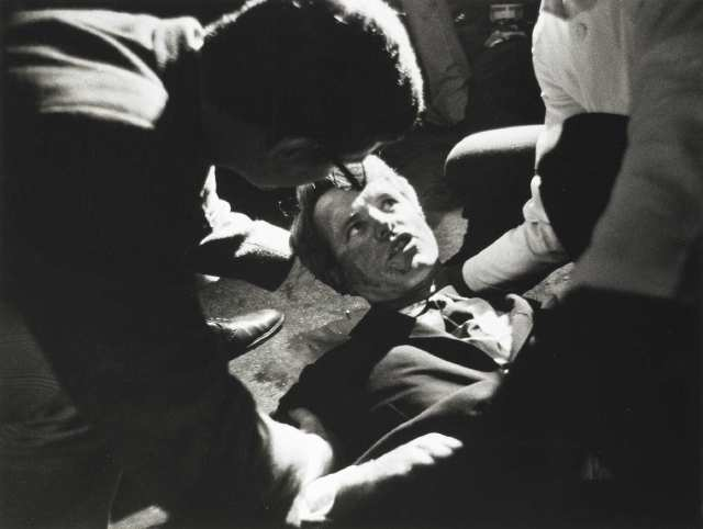 Robert F Kennedy shot
