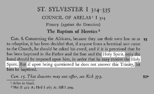 Baptism of Heretics