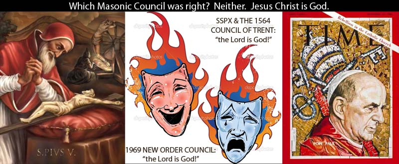 Two faced controlled opposition at the Council of Trent