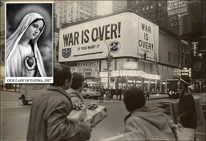The War is over if you want it.