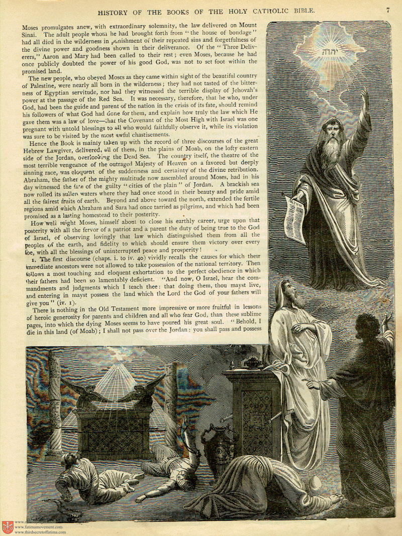 The 1883 Haydock Illuminati Douay Rheims Bible