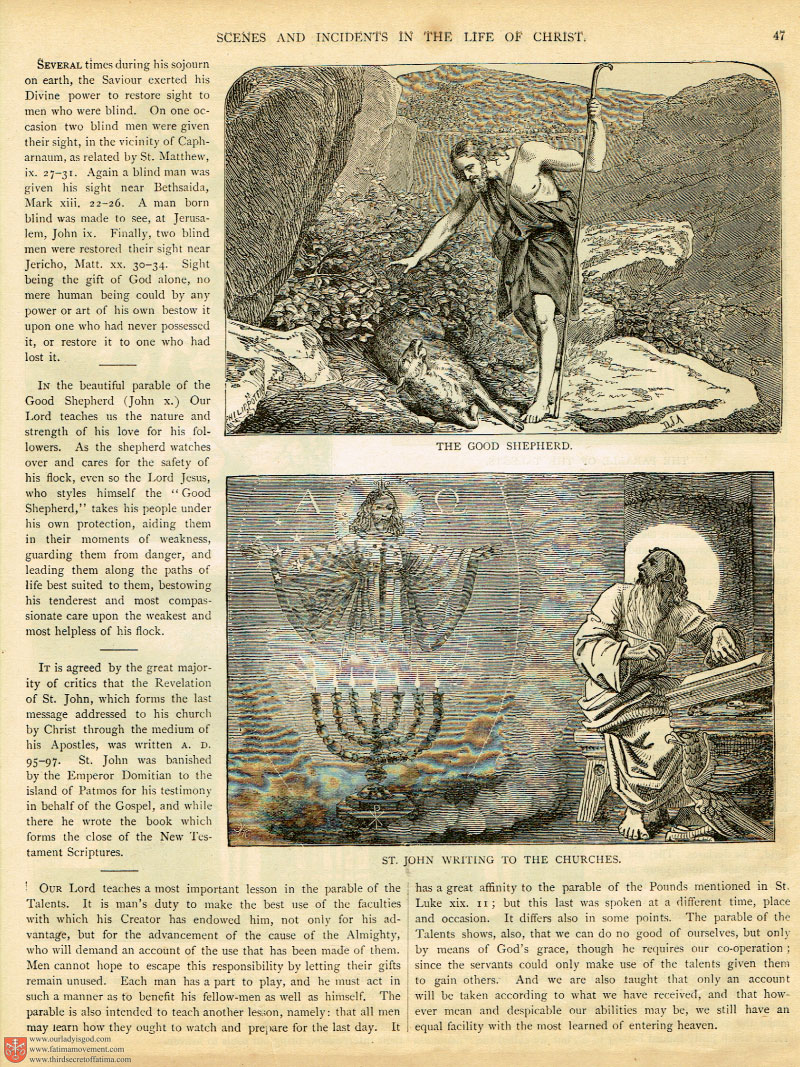 The 1883 Haydock Illuminati Douay Rheims Bible scan 0300