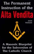 The Permanent Instruction of the Alta Vendita Cover