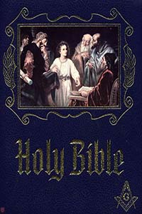 Masonic Bible cover