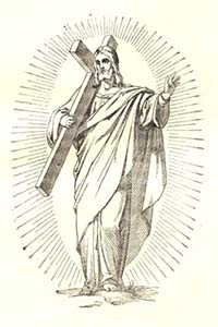 Masonic Jesus from the German Catholic Bible, scan 1278