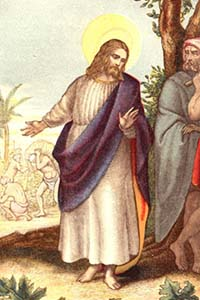 Masonic Jesus from the German Catholic Bible, scan 1456
