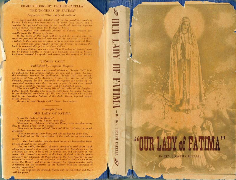 Our Lady of Fatima, Rev Cacella, 1946 scan 1