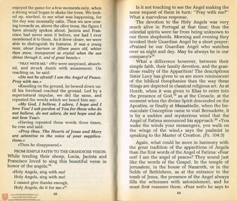 The Whole Truth About Fatima Volume 1 pages 68-69