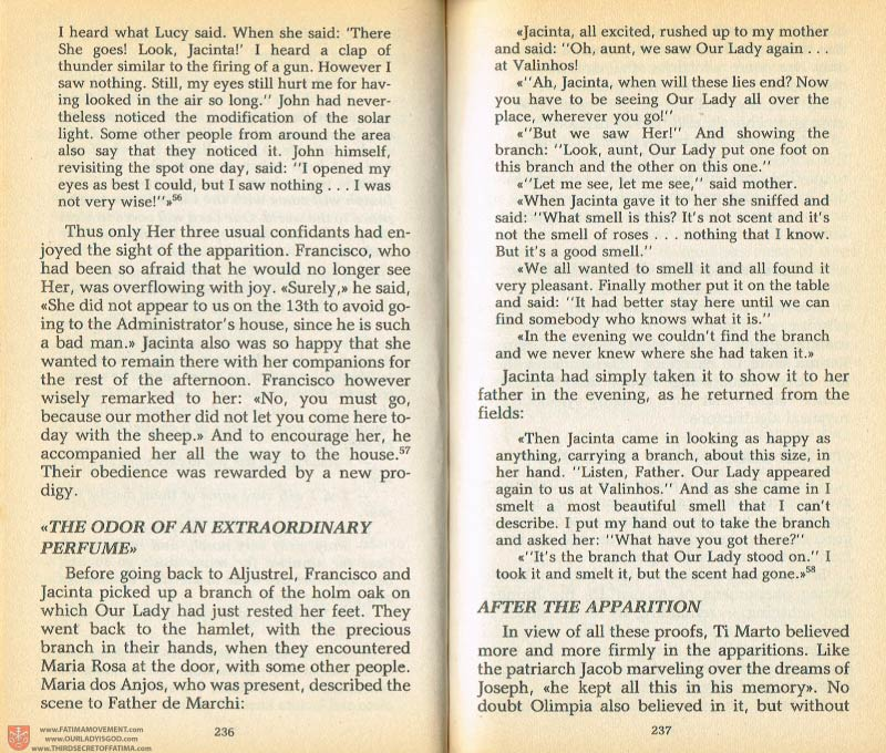 The Whole Truth About Fatima Volume 1 pages 236-237