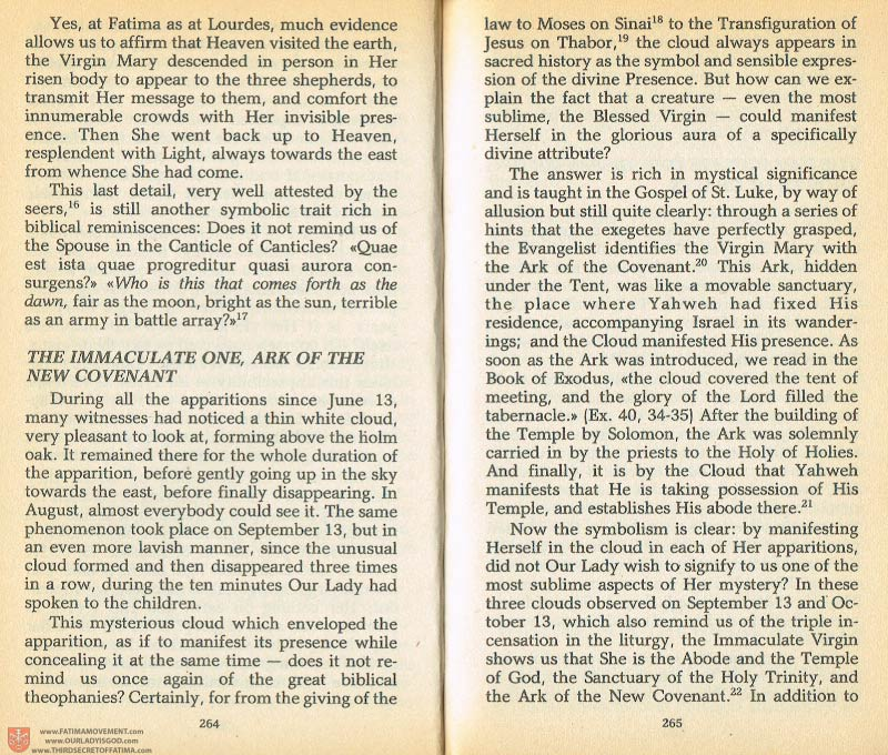 The Whole Truth About Fatima Volume 1 pages 264-265