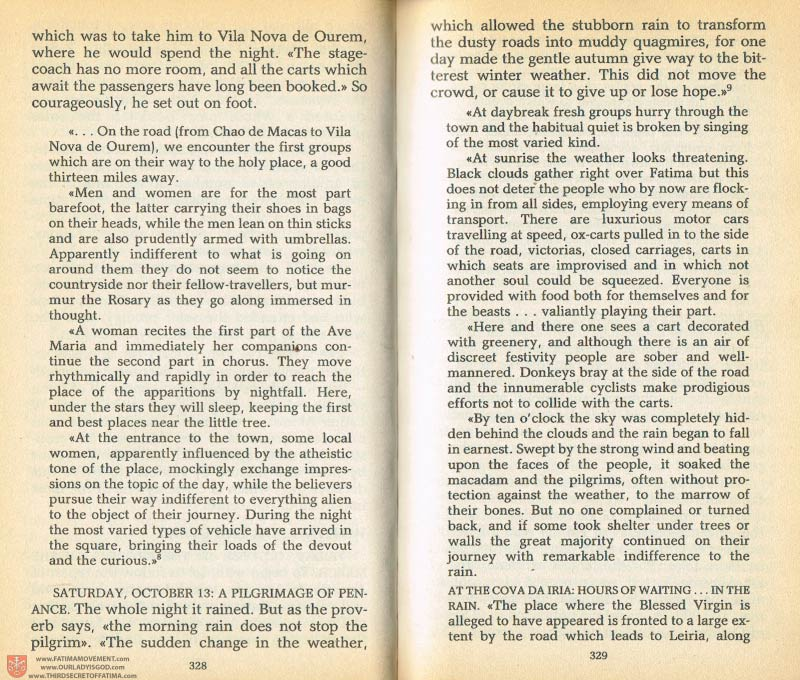 The Whole Truth About Fatima Volume 1 pages 328-329
