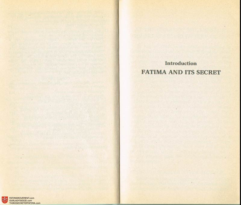 The Whole Truth About Fatima Volume 2 pages iv-v