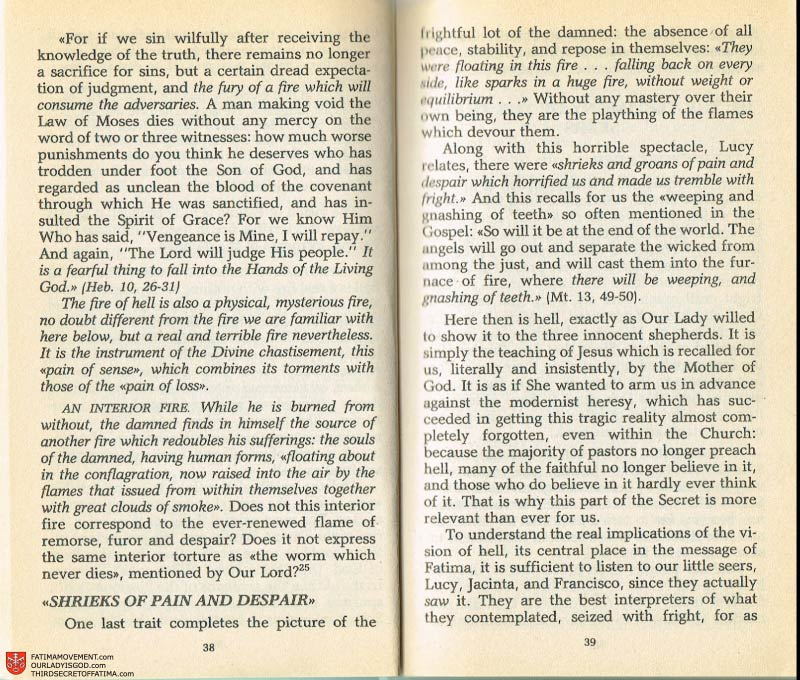 The Whole Truth About Fatima Volume 2 pages 24-25