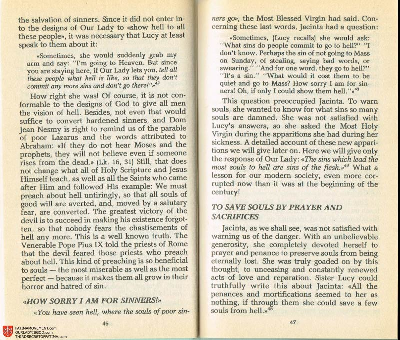 The Whole Truth About Fatima Volume 2 pages 32-33