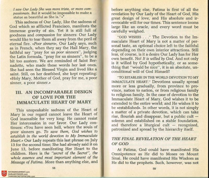 The Whole Truth About Fatima Volume 2 pages 44-45
