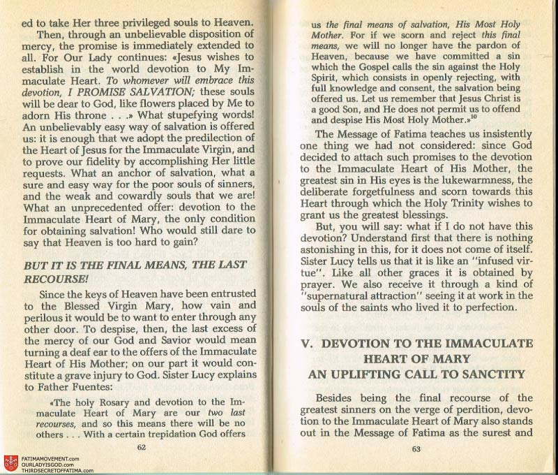 The Whole Truth About Fatima Volume 2 pages 48-49