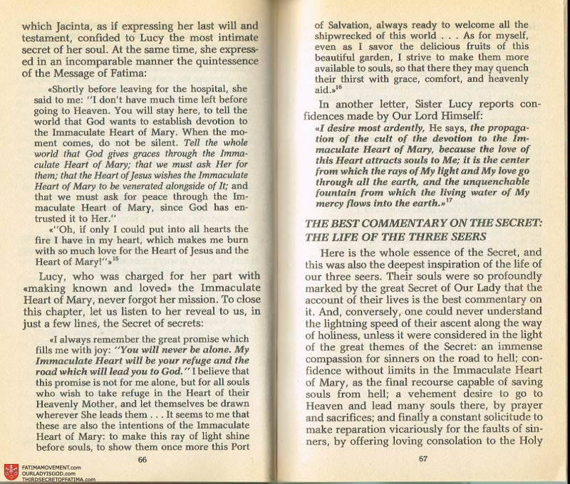 The Whole Truth About Fatima Volume 2 pages 52-53