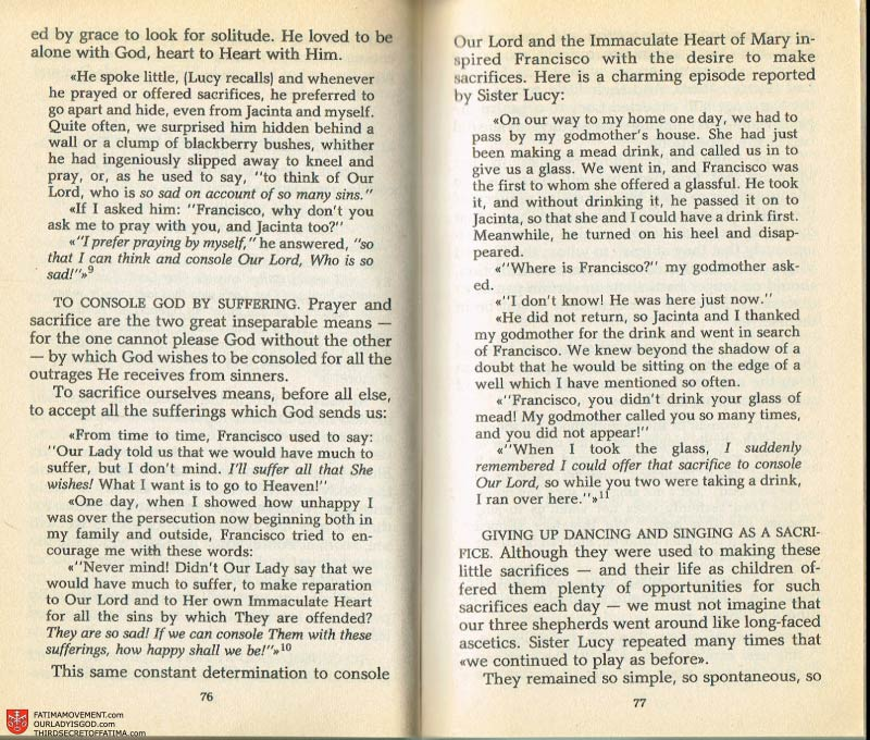 The Whole Truth About Fatima Volume 2 pages 62-63