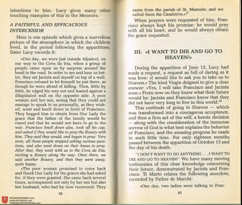 The Whole Truth About Fatima Volume 2 pages 68-69