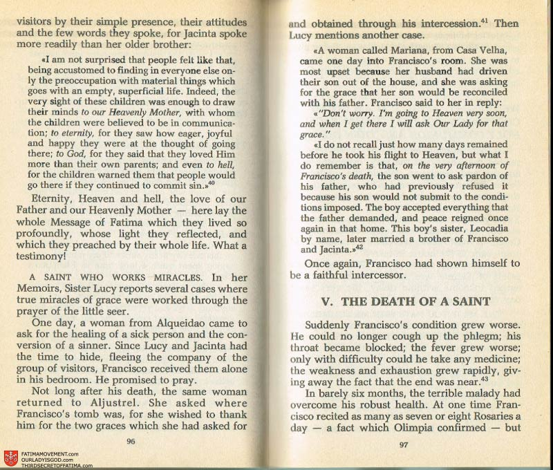 The Whole Truth About Fatima Volume 2 pages 82-83