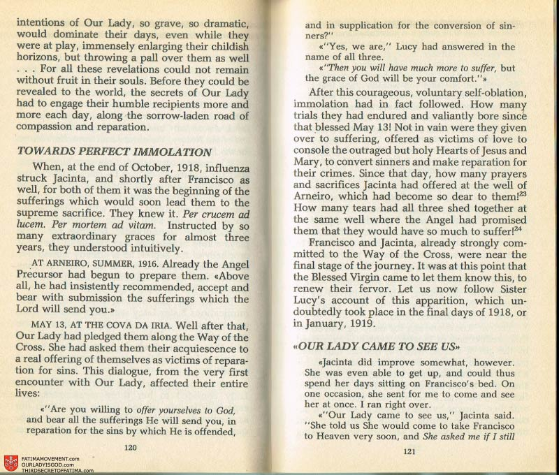 The Whole Truth About Fatima Volume 2 pages 106-107