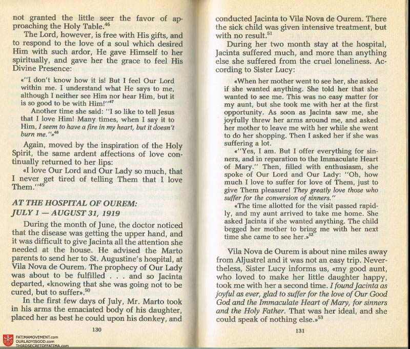The Whole Truth About Fatima Volume 2 pages 116-117