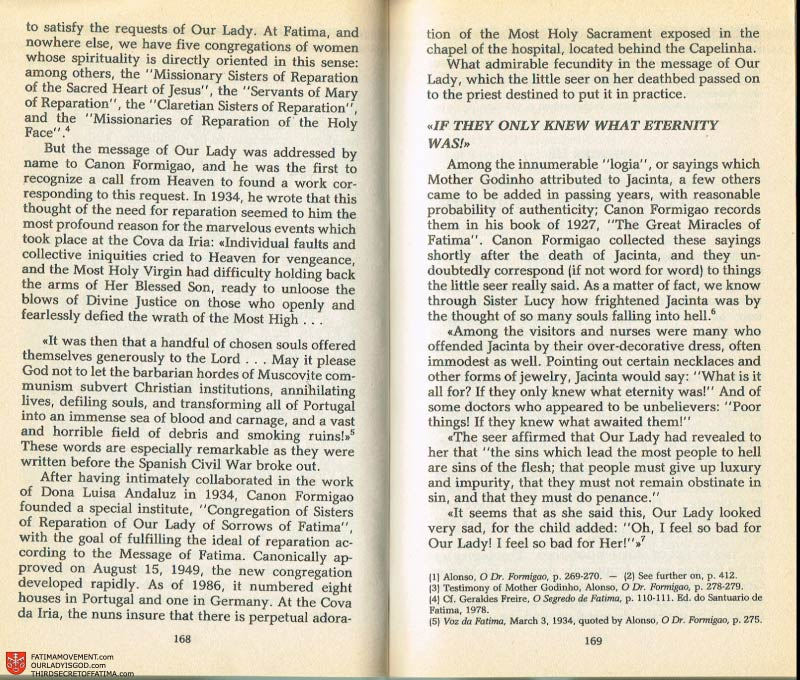 The Whole Truth About Fatima Volume 2 pages 154-155