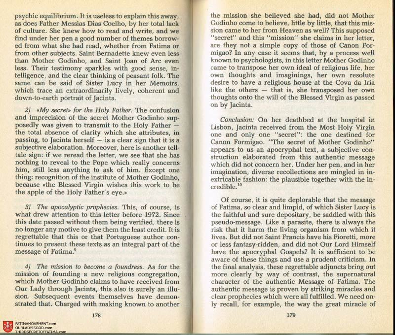 The Whole Truth About Fatima Volume 2 pages 164-165