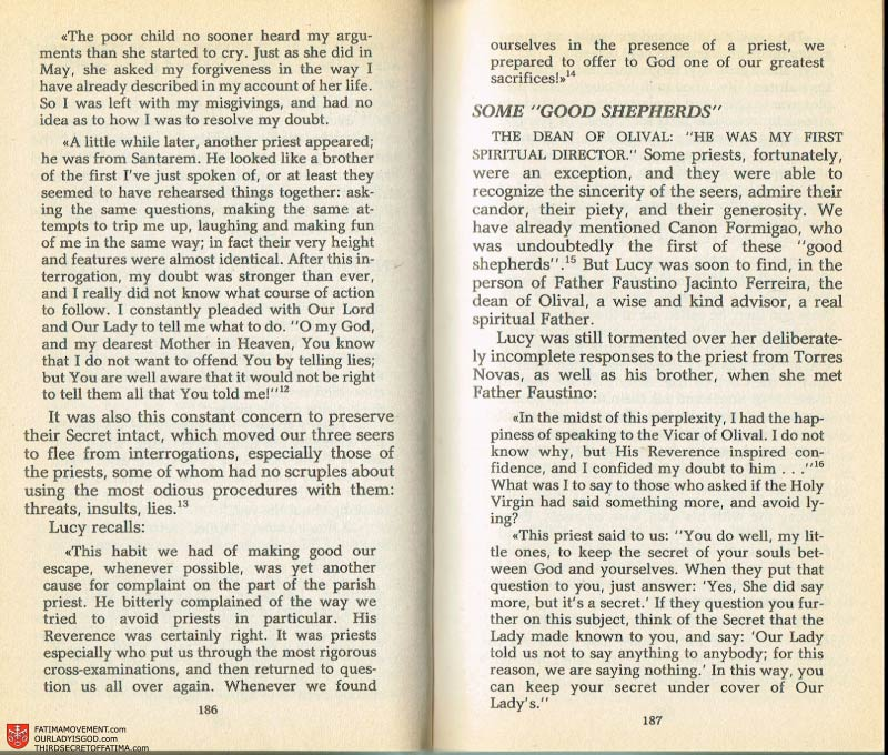 The Whole Truth About Fatima Volume 2 pages 172-173