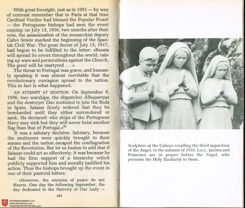 The Whole Truth About Fatima Volume 2 pages 410-411