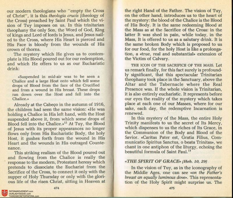 The Whole Truth About Fatima Volume 2 pages 452-453
