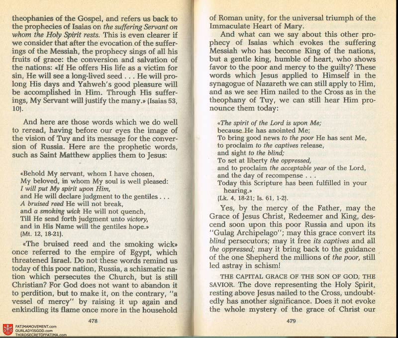 The Whole Truth About Fatima Volume 2 pages 456-457