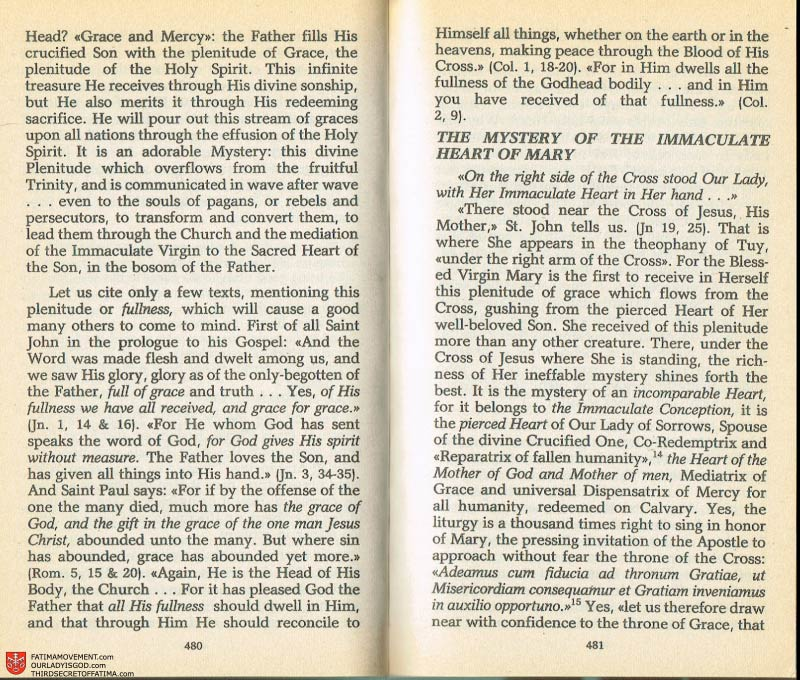 The Whole Truth About Fatima Volume 2 pages 458-459