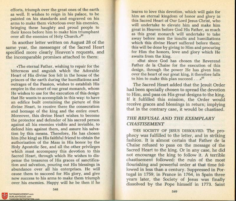 The Whole Truth About Fatima Volume 2 pages 526-527