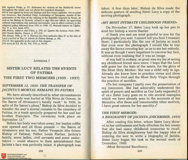 The Whole Truth About Fatima Volume 2 pages 636-637