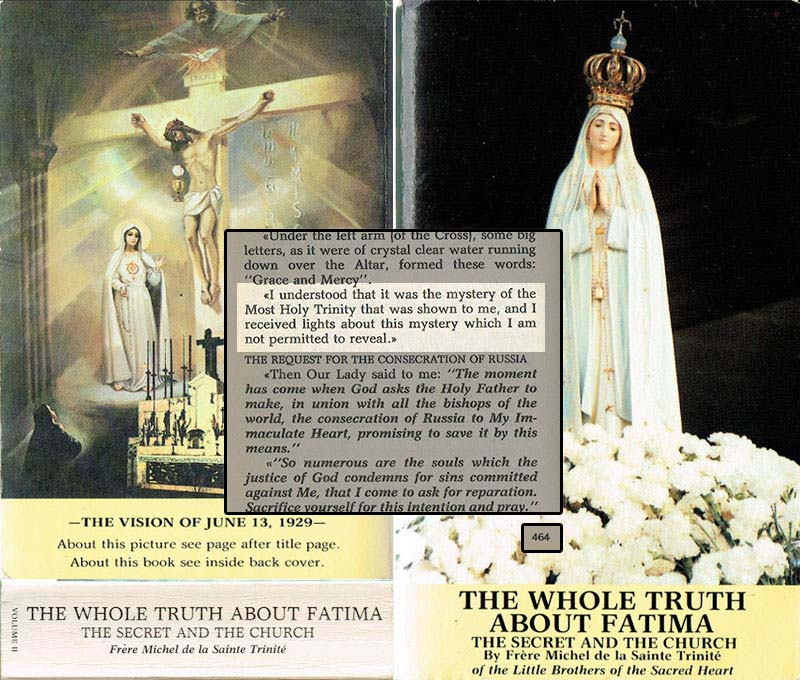 The Whole Truth About Fatima Volume II