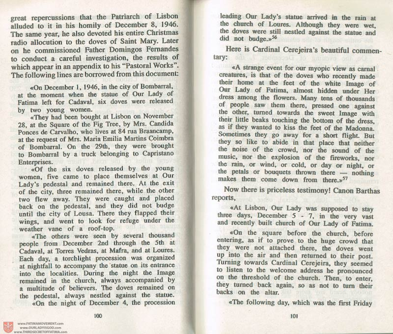 The Whole Truth About Fatima Volume 3 pages 100-101