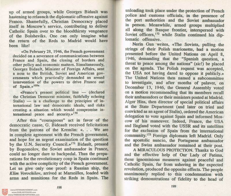 The Whole Truth About Fatima Volume 3 pages 198-199