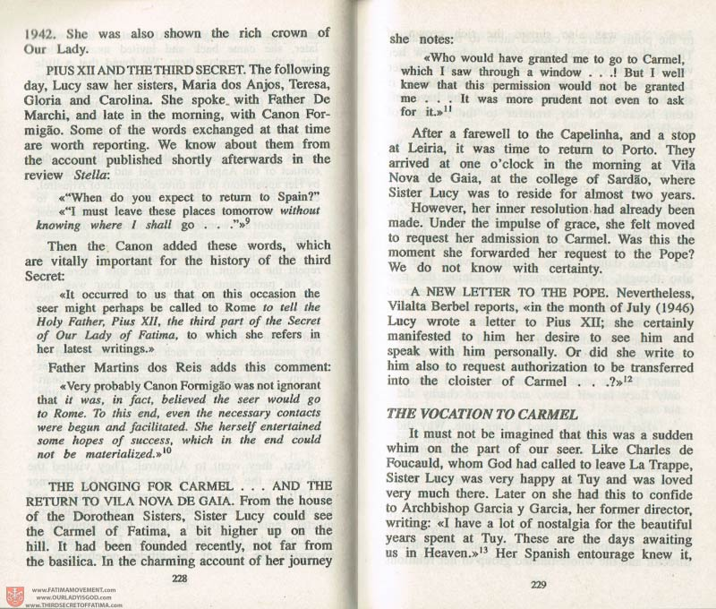 The Whole Truth About Fatima Volume 3 pages 228-229