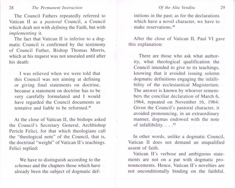 The Permanent Instruction of the Alta Vendita: A Masonic Blueprint for the Subversion of The Catholic Church page 28-29
