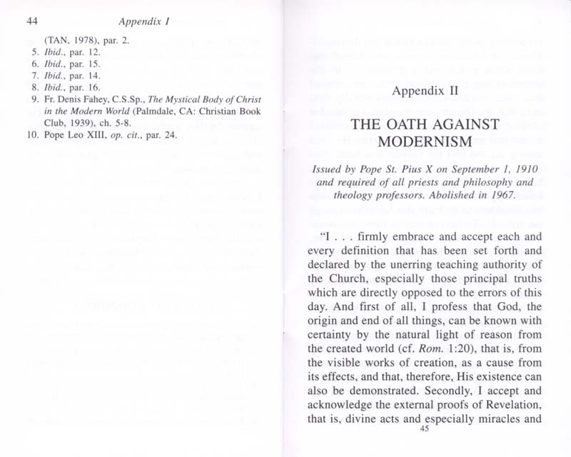 The Permanent Instruction of the Alta Vendita: A Masonic Blueprint for the Subversion of The Catholic Church page 44-45